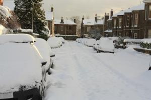 auto w zimie