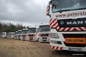 Usługi transportowe - proces tworzenia firmy przewozowej