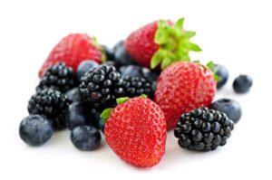 Schudnij z czerwonymi owocami